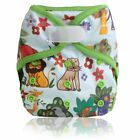 Unisex Baby Cloth Diaper Cover Adjustable Washable Cartoon Style Baby Nappies