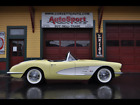 1958+Chevrolet+Corvette+Extremely+rare+Panama+Yellow+1958+Corvette%21