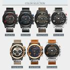 Curren 8287 Men Leather Band Strap Watch Mechanical Relogio Masculino Watch RE image