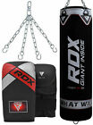 RDX Punching Bag Heavy Kit Punch Boxing Chains Set Hanger Gloves Filled Kick MMA
