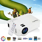 7000 Lumens 1080P LED Projector 3D Home Theater For Smartphone Labtop PC 3000:1