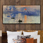 HH283 Modern Home decoration oil painting Sunrise Hand-painted on canvas