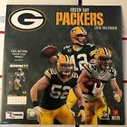 """New 2018 Gree Bay Packers Wall Calendar 12"""" x 12"""" Factory Sealed Aaron Rogers"""