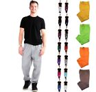 MEN SWEATPANTS FLEECE ACTIVE WORKOUT GYM SPORT 3 pocket SWEAT PANTS SIZE S-5XL