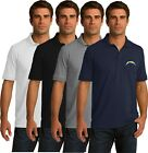 Los Angeles Chargers Golf Polo Shirt - up to 6X Embroidered $14.95 USD on eBay