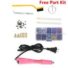Iron-on Applicator Wand Heat Gun for Hot fix Hotfix Rhinestone Crystal Gem Tools