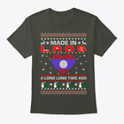 Made In Laos Christmas Ugly Sweater Hanes Tagless Tee T-Shirt