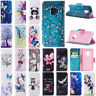 For Samsung Galaxy S10 Plus/Lite S9 S8 Plus Wallet Leather Flip Stand Case Cover