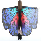 Butterfly Wings Cape Shawl Adult Fairy Pixie Cloak Costume Fancy Dress Party
