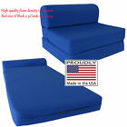 Royal 6 x 32 x 70 Sleeper Chair Folding Foam Beds, Foam 1.8 lb Density Sofa Bed