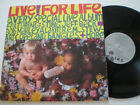 LIVE! FOR LIFE AMC Cancer Research USA LP VINYL 1986 NM R.E.M. STING SQUEEZE