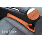 Car SUV Seat Gap Filler Leather Cover Spacer For BMW Toyota Honda Chevrolet