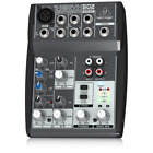 Behringer XENYX 502 Professional 5-Channel DJ Studio Analog Audio Mixing Console
