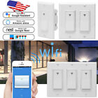 1/2/3 Gang Smart WiFi Wall Light Switch Modern Panel For Amazon Alexa & Google