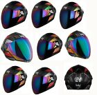 Steelbird Air Helmets Robot Multi Color Full Face Headwear Helmet motorbike
