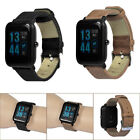 Retro Bracelet Leather Watch Band Strap For Xiaomi Huami Amazfit Bip Youth Watch image