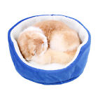 New Cute Pet Mini Small Bed House Sofa Mat Dog Cat Warm Blanket Cushion Basket