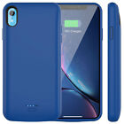 For iPhone X XR XS Max Battery Charger Charging Case Cover External Power Bank