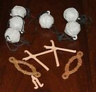 Star Wars Vintage ROTJ Ewok Glider Boulder Lever X-Brace Clip Harness Parts 1984 $8.95 USD on eBay