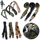 Adjustable Tactical Point Sling For Bungee Rifle Gun Sling System Strap Hook