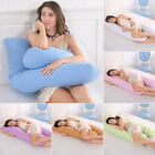 U Shape Pillow Pregnancy Mummy Nursing Body Support Hold Pillow For Pregnant USA image