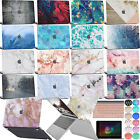 """Marble Logo-Cut Laptop Cover Rubberized Hard case For New Macbook Air 13""""Retina"""