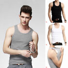 Men's Sports GYM Fitness Tank Tops Muscle Singlet Tight Cool Sleeveless Vest XL