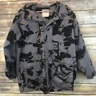Adder Rebulic Couth Africa Military Jacket Style Grey Black Large L Camouflage