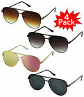 "Large Aviator XXL Q ""KEY"" OVERSIZED Metal Gradient Women Sunglasses Shades NEW"
