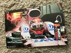 original George Russell Autogramm 20x30 Force India
