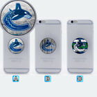 Vancouver Canucks Phone Grip Holder Mount Stand For iPhone Samsung $2.99 USD on eBay