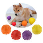 Cute 9cm Rubber Ball Dog Squeaker Squeaky Toy for Big Medium Small Dogs Chewing