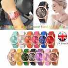 Female Watch Rome Number Quartz Watch With Scale Dial Ring Leather Strap U2 image