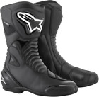 Alpinestars SMX-S Waterproof Boots BLACK FREE SHIPPING
