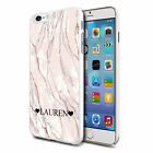 Personalised Marble Phone Case Cover for Apple Samsung Initial Text Name - CC43