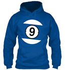 9 Ball Pool Billiard American Apparel - Gildan Hoodie Sweatshirt $27.99 USD on eBay