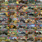 First-To-Fight tanks and military vehicles model kits in 1/72 scale (62 models)