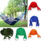 Garden Hammock Net Hang Rope Mesh Travel Beach Camping Outdoor Swing Sleep Bed