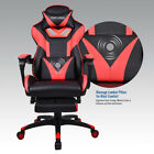 EU Video Computer Gaming Chair Racing Style Recliner Swivel Pu Leather Seat