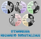 RICARDO MONTALBAN Old Time Radio Shows OTR 5 CDs THE HOLD OUT HEART Drama