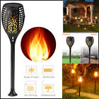 96 LED Waterproof Solar Tiki Torch Light Dancing Flickering Flame Lamp (1-20Pcs)
