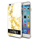 Marble Personalised Phone Hard Case Cover Skin For Various Mobiles - K43