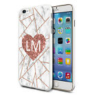 Marble Personalised Phone Hard Case Cover Skin For Various Mobiles - K28
