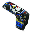 Joker Golf Head Cover Blade Putter Insane Clown Club Headcovers PU Leather