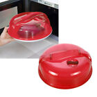 Microwave Plate Covers Steam Vent Lid Dish Food Splatter for Home Kitche YRE