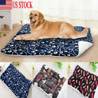 USA Soft Warm Kennel Cushion Dog and Cat House Bed Pet Blanket Washable Mat