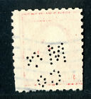"""U S perfin M285, pins missing, """"C"""" rated, M&/Co, Montgomery & Co., NY"""