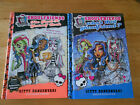 Two Moster High Ghoulfriends Books, hardbacks