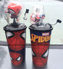 2x SPIDER-MAN HOMECOMING 2017 BIG HEAD figure Topper Cup set Marvel Avengers