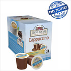 Grove Square Cappuccino French Vanilla 24 pcs Single Serve Keurig K-Cup Brewer